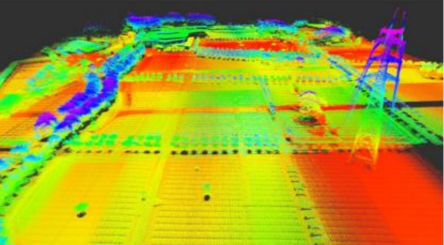 MS CH 3D LIDAR DEMO mapping